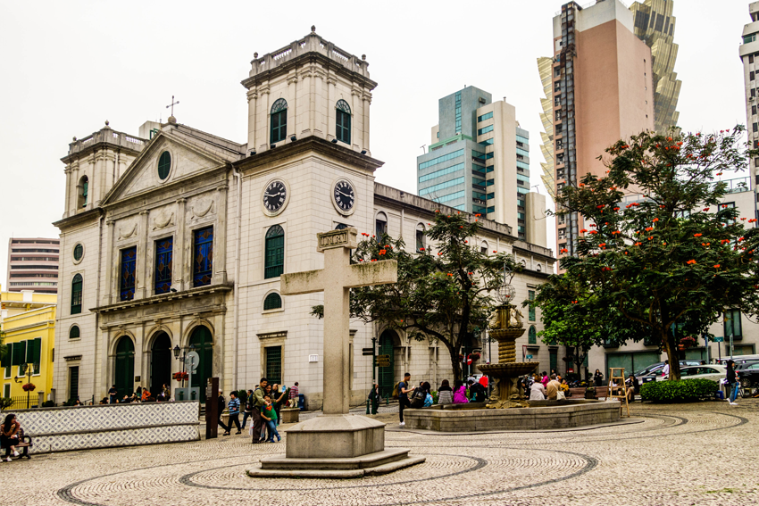 Macau - Konolialbauten