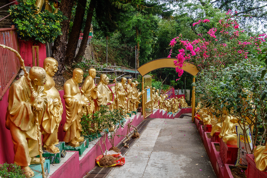 Hongkong - Tempel 10.000 Buddhas