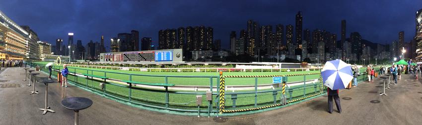 Hongkong - Rennbahn Happy Valley