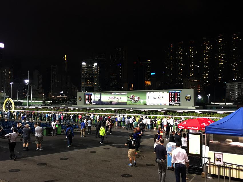 Hongkong - Pferderennen Happy Valley