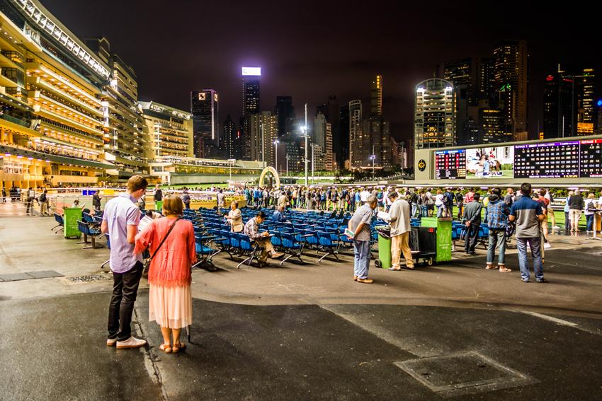 Hongkong Lieblingsbilder - Pferderennen Happy Valley