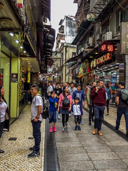 Hongkong Lieblingsbilder - Straßenbilder