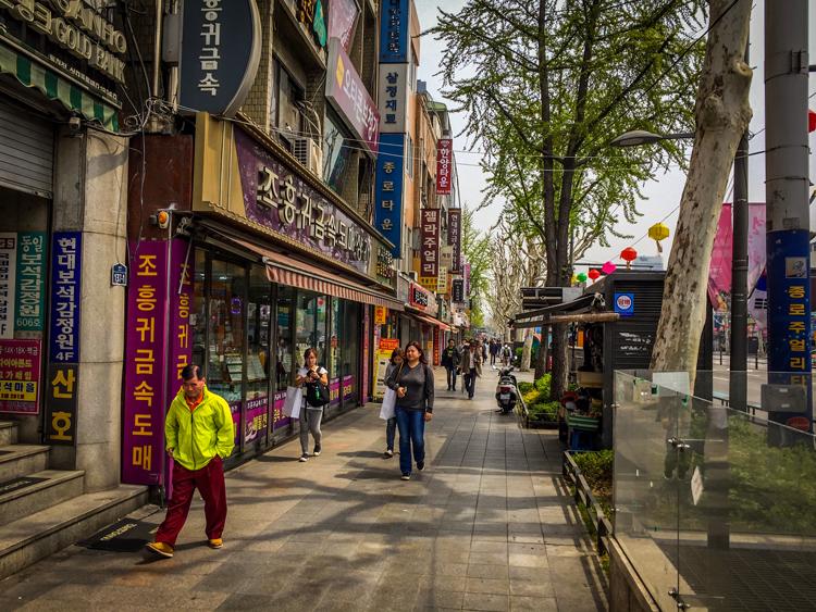Seoul - Straße in Seoul