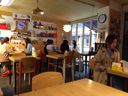 Seoul, eine Stadt für Kaffeetrinker - Café Gangnam