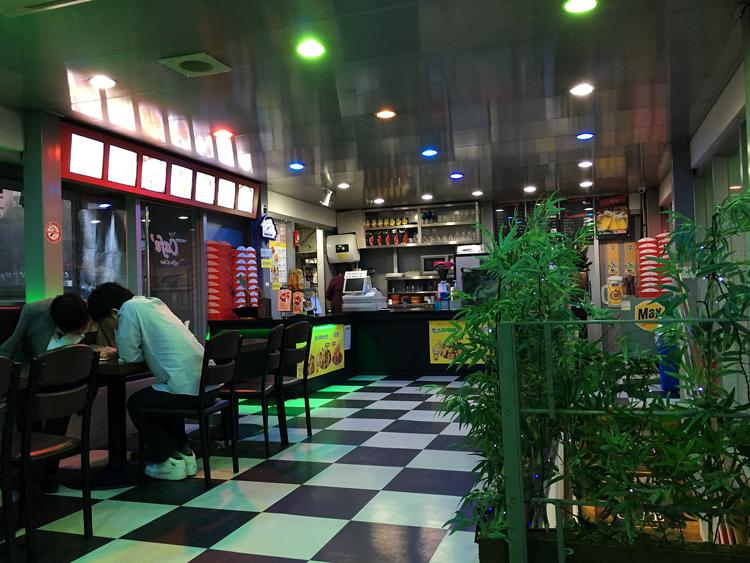 Seoul - Kaffee trinken am Hanfluss