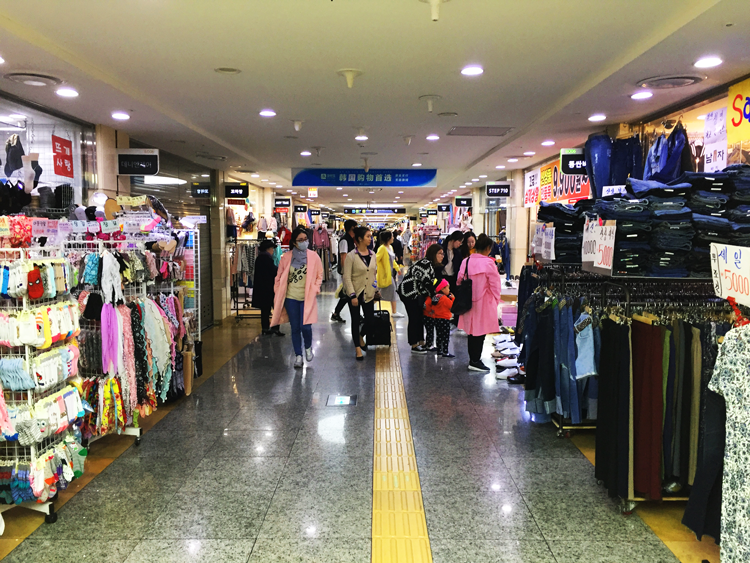 Seoul - Untergrund Shopping Mall