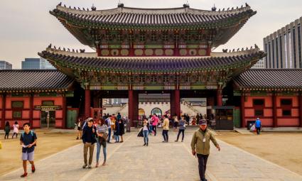 Paläste in Seoul - Gyeongbokgung Palast