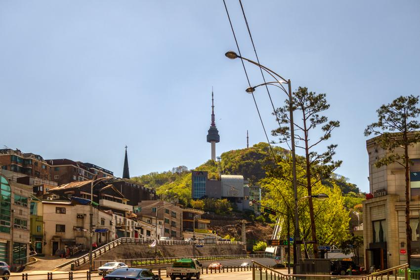 Reisen nach Seoul - Berg Namsam