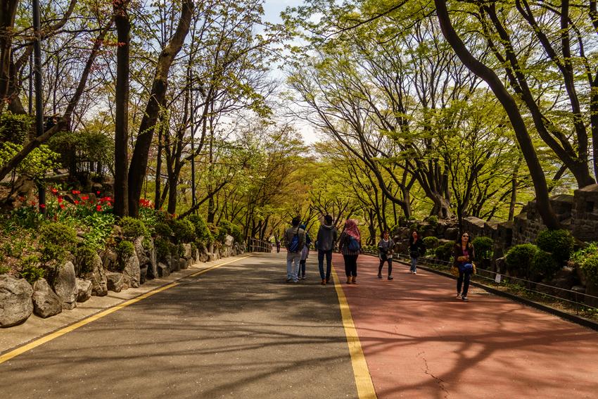 Reisen nach Seoul - Namsampark
