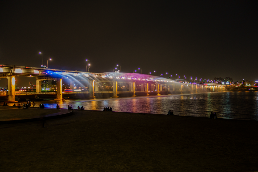Reisen nach Seoul - Banpobrücke
