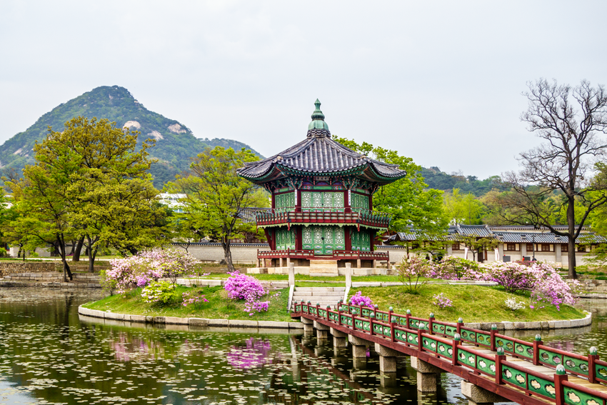 Paläste in Seoul - Palast Gyeongbokgung