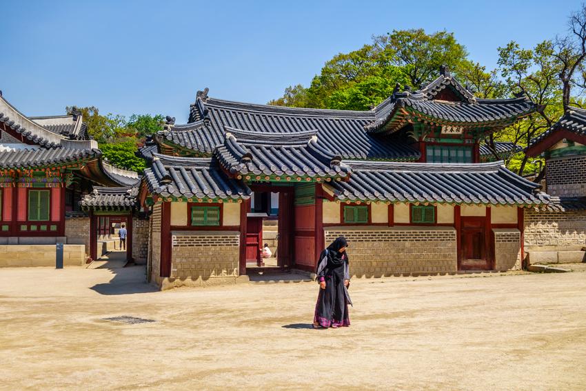 Paläste in Seoul - Changdeokgung und der Huwon Garten