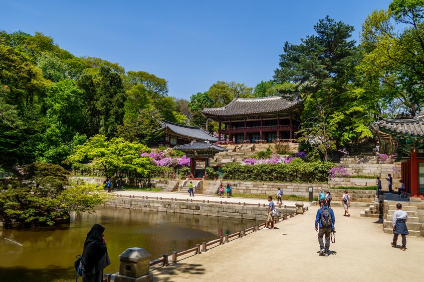 Paläste in Seoul - Changdeokgung Secret Garden