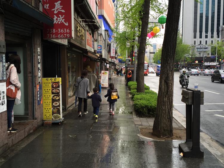 Reisen nach Seoul - Jongno