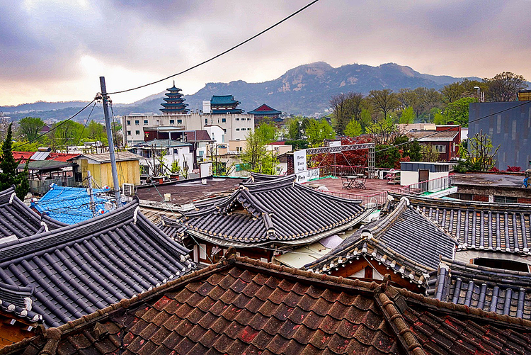 Reisen nach Seoul - Hanok-Dorf Bukchon