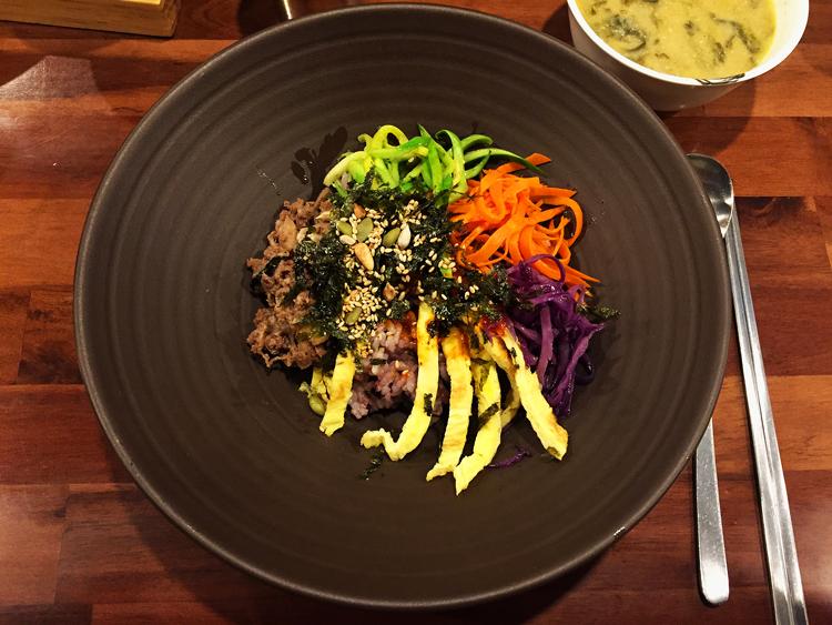 Lecker, scharf und vielfältig Essen in Seoul - Bibimbap