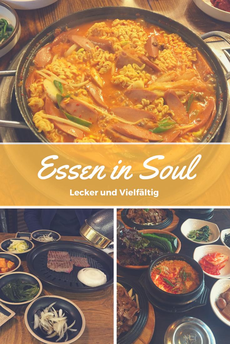 Lecker, scharf und vielfältig - Essen in Seoul
