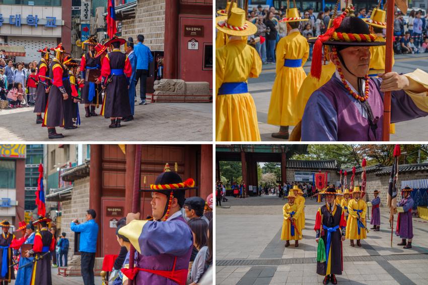 Paläste in Seoul - Wachablösung Deoksugung