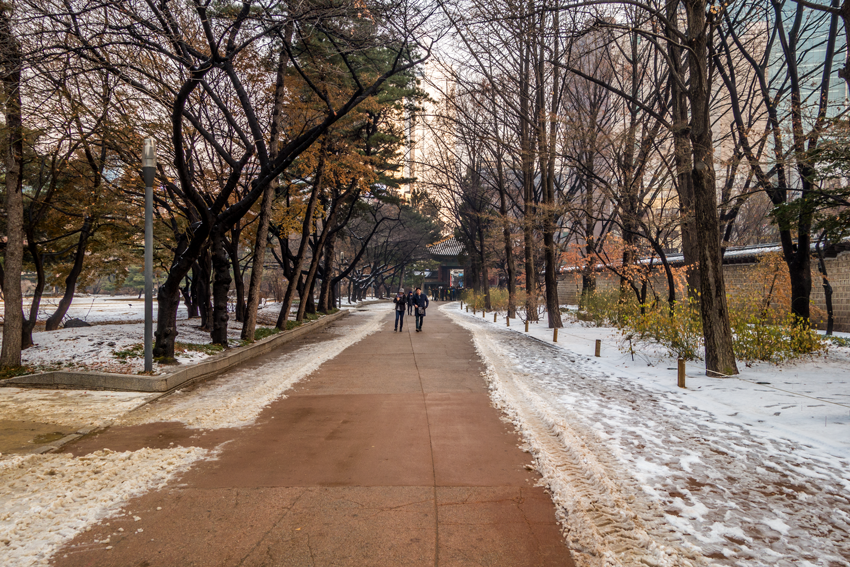 Fotoparade - Park im Deoksugung Palast
