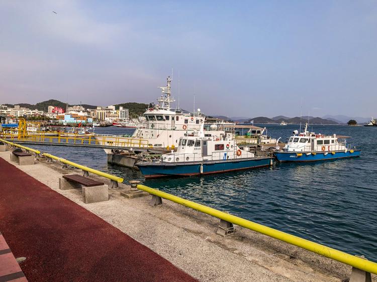 Tongyeong Südkorea, Fischerhafen von Tongyeong